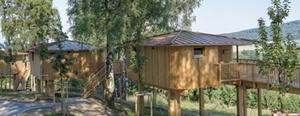 Aussenansicht Baumhäuser