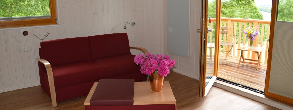 Baumhaus Eichenhoehe Sofa