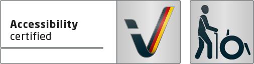 Logo Barrierefrei en