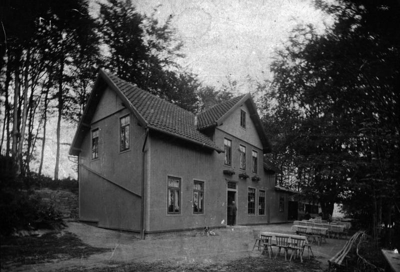 Waldquelle um 1915