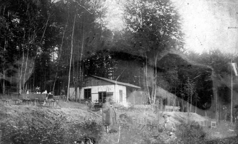 Waldquelle vor 1887